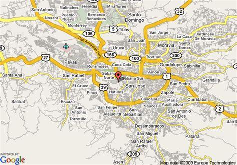 san jose monte map map of tirol hotel san jose