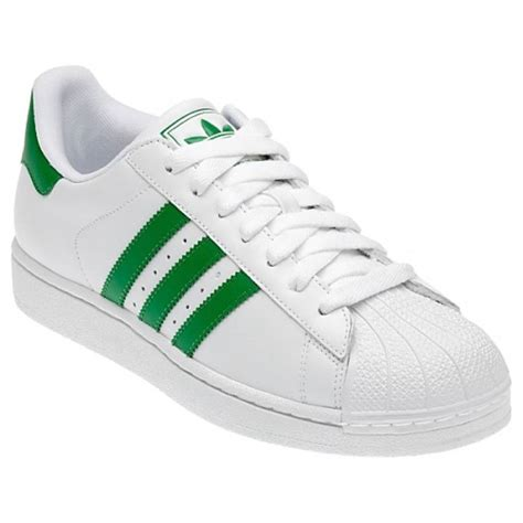 shell toe sneakers adidas superstar 2 shell toe g17069 white fairway green