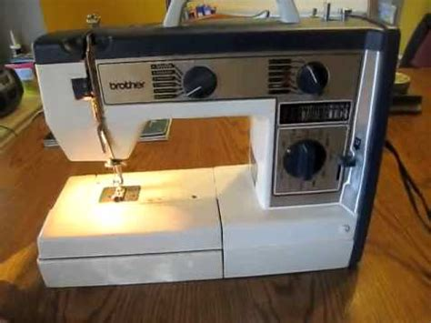 brother model vx 780 sewing machine youtube