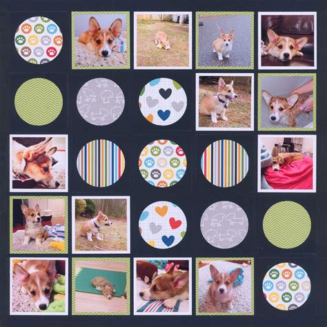 7 Great Scrapbooking by 7 Scrapbook Layouts With Mostly Square Patterns