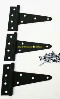 Heavy Duty Hinges For Barn Doors 5 Quot Heavy Duty Shed Hinges Set Of 3 Shed Barn Door Playhouse Treehouse Windows Ebay