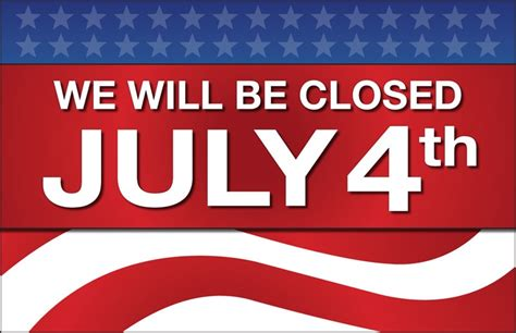 Is The Post Office Open On July 4th by Crafts Direct Store Closed July 4th