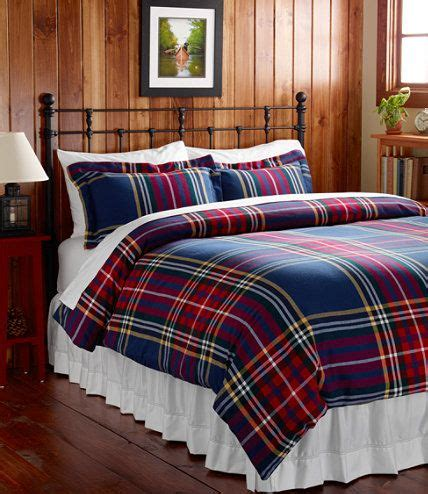 flannel plaid comforter plaid flannel bed covers and cabin on pinterest