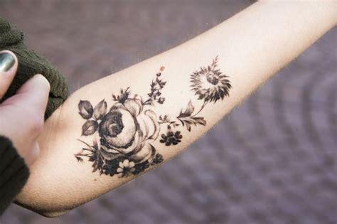flower tattoos black and white 30 beautiful black and white flower tattoos for