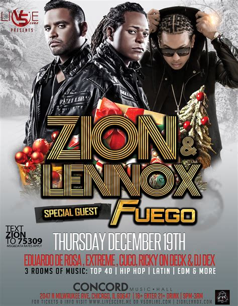 zion n lennox tickets for cancelled zion lennox and fuego concert in