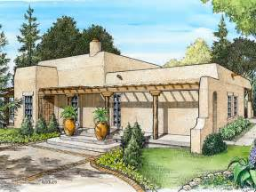 adobe house plans small southwestern adobe home plan design 008h 0021 at thehouseplanshop com