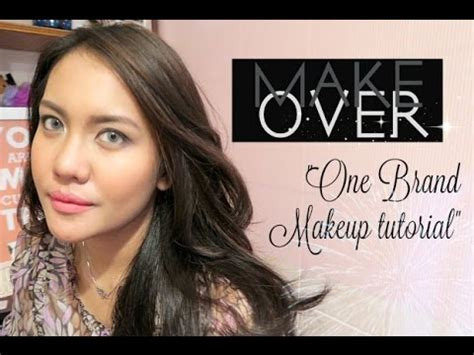 make over quot make over quot one brand makeup tutorial review 2016