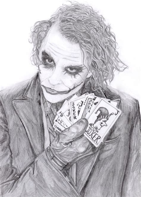 Drawing Joker by The Joker Dude By Lovindah On Deviantart