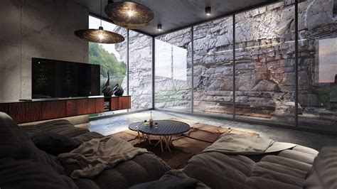 ex machina location 4 homes using concrete as a stylish accent