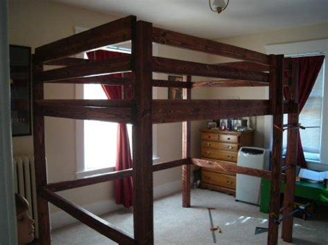 adult queen loft bed build your own loft bunk bed twin full from amazon things i
