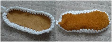 pattern for slipper socks with suede sole good pictures attaching suede sole for your crocheted