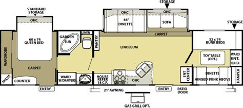 park model travel trailer floor plans 2010 forest river salem 36bhbs park model piqua oh psrvs