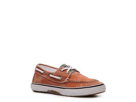 toddler sperry top sider halyard boat shoe sperry top sider halyard boys toddler youth boat shoe dsw