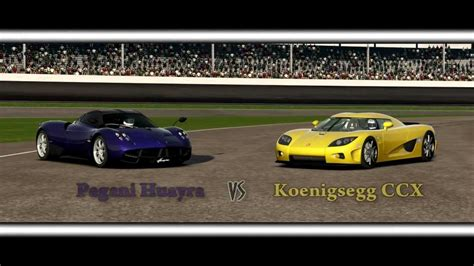 koenigsegg huayra forza motorsport 4 battle s1 e10 pagani huayra vs