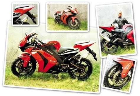 Tas Motor Untuk Satria Fu honda mega pro 2007 tasikmalaya replika cbr 1000 cc