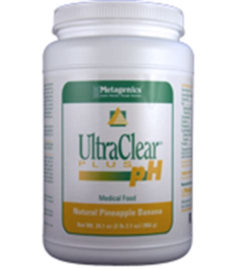 Metagenics Detox Recipes by Ultraclear Plus Ph Rice Pineapple Banana By Metagenics