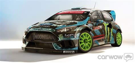 Ken Block Ford Focus Specs by 2015 Ken Block Ford Focus Rs Gymkhana Imagined By Carwow