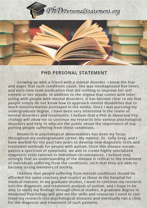 Personal Statement Phd Biology by Personal Statement Phd