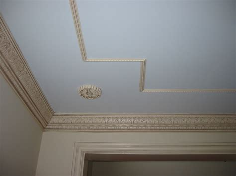 Moulding For Ceiling by Crown Moulding Applied Ceiling Moulding And Rosette
