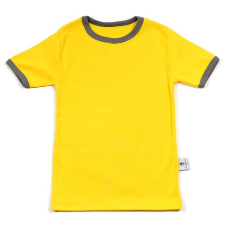 Tshirt Yellow yellow t shirt les piou pious 174