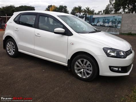 white volkswagen polo team bhp vw polo gt tsi the might of white ownership