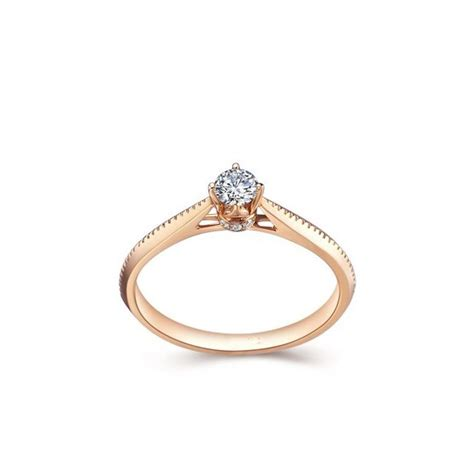 beautiful solitaire engagement ring promise ring
