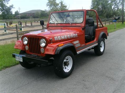 1979 Jeep Renegade For Sale Sell Used 1979 Jeep Cj7 Renegade In Clarence New York