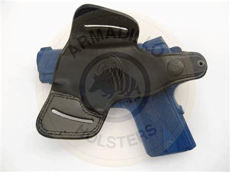 armadillo holsters armadillo black leather belt holster