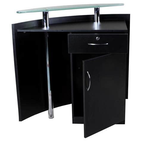Black Reception Desk Quot Baltic Quot Black Reception Desk