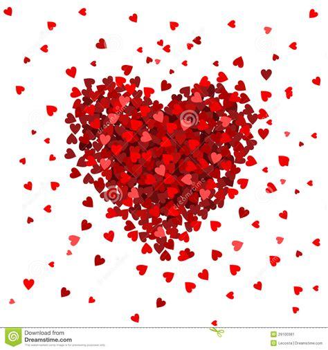 dise o coraz 243 n de corazones dise 241 o imagen de archivo imagen