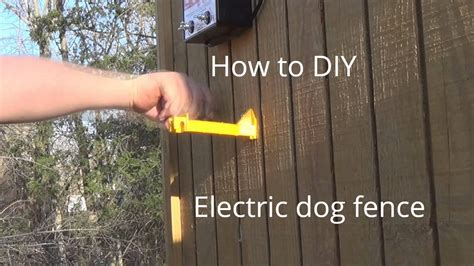 electric fences for dogs how to make electric fence cheap