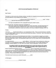 Pastor Letter Of Resignation by Resignation Letter 20 Free Word Pdf Documents Free Premium Templates