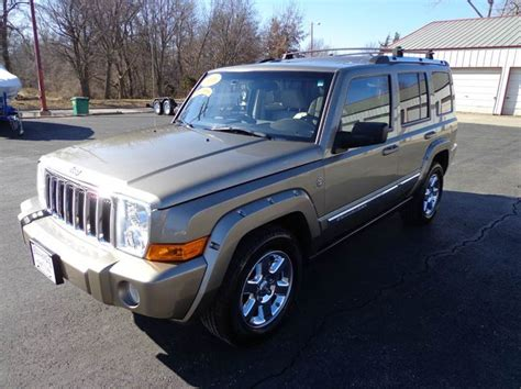 2006 Jeep Commander Gas Mileage 2006 Jeep Commander Limited 4dr Suv 4wd In Harrisonville