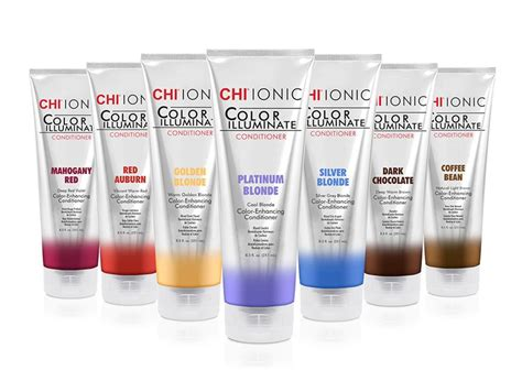 chi color chi ionic color illuminate color depositing conditioners