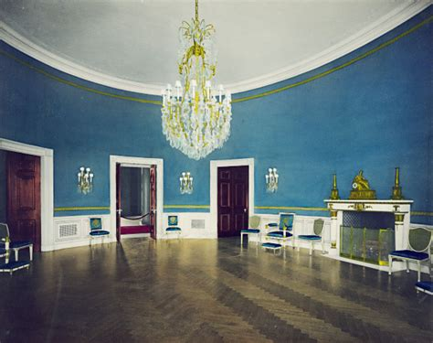 blue rooms blue room white house museum