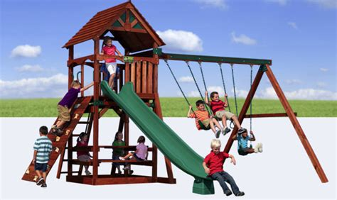 backyard adventures kids play structure for small yards 2017 2018 best