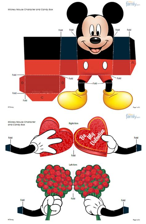 Mickey Mouse Papercraft - unique paper toys valera rubanik