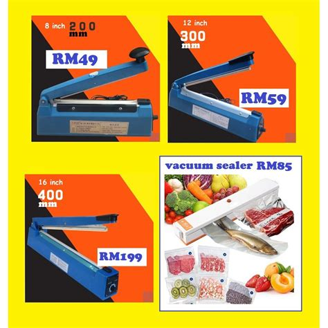Alat Perekat Plastik Lazada handy sealer perekat plastik mini elektrik daftar harga