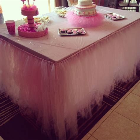 how to make a tulle table skirt best 25 tutu table ideas on tulle baby shower