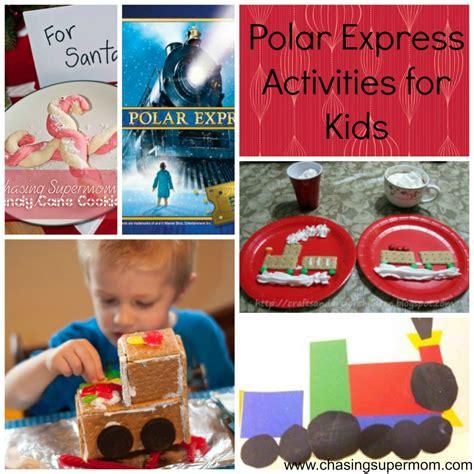 polar express crafts for polar express activities chasing supermom
