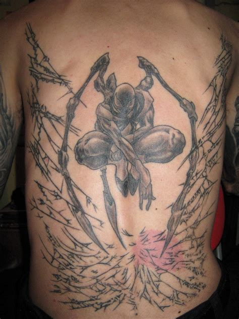 wkuk tattoo iron spider 2 by raznal on deviantart