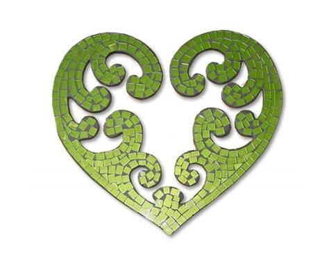 koru pattern and meaning love the pattern of many koru forming a heart mosaic