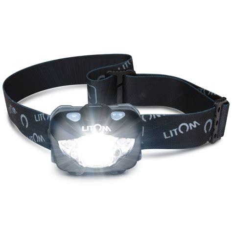 Headl Flashlight Waterproof White Led litom headl flashlight with white led gesture ipx6 waterproof helmet light
