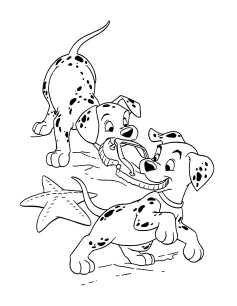 Dalmatian Fire Dog Coloring Pages Coloring Pages Pictures Dalmatian Coloring Page