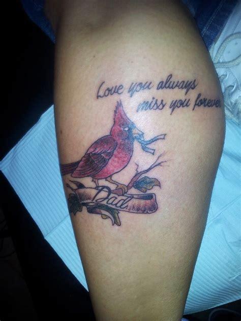 in memory of my dad cardinals were his favorite bird