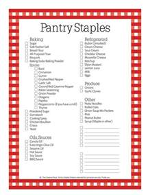 Food Pantry Staples by The Creative Place Menus Groceries Budget Ideas A