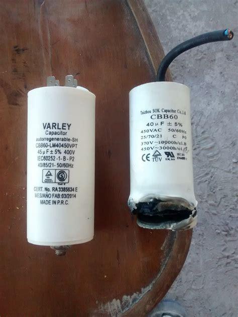 capacitor de aire quemado 28 images aver 237 a en aire acondicionado 2 condensador el 233