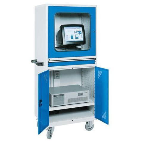 armoire pour ordinateur armoire informatique mobile pour ordinateur de bureau