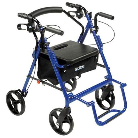 Drive Duet Rollator Transport Chair - bigapplemobility is 1 electric scooter and wheelchair