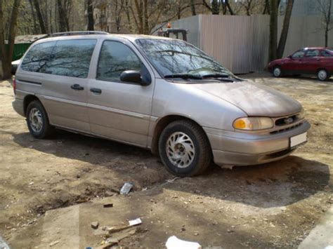 1995 ford windstar pictures 3 8l gasoline ff automatic for sale